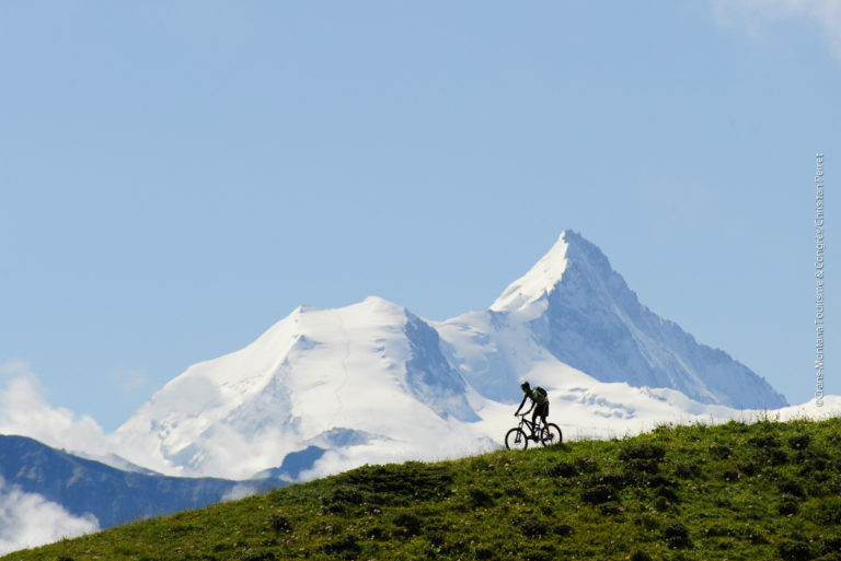 Crans-Montana Bike, discover the area from level 500m to 3000 m